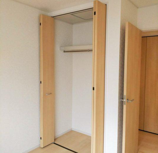 4.6帖洋室クローゼット(子供部屋)