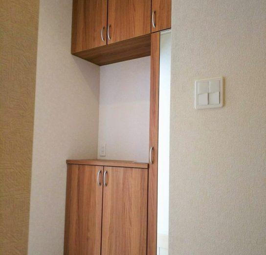 収納たっぷりな玄関(玄関)