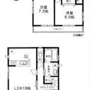建物参考プラン1383万円(間取)