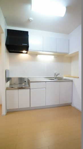 使い勝手の良い広めのキッチンで料理も楽しくなります♪(キッチン)